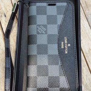 Accessories - Louis Vuitton iPhone Xs/ X wallet phone case black